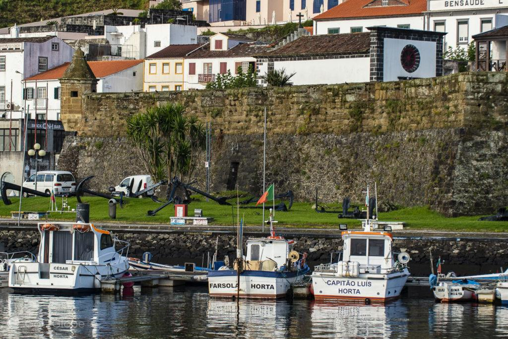 Horta, Faial, Cidade que dá o Norte ao Atlântico