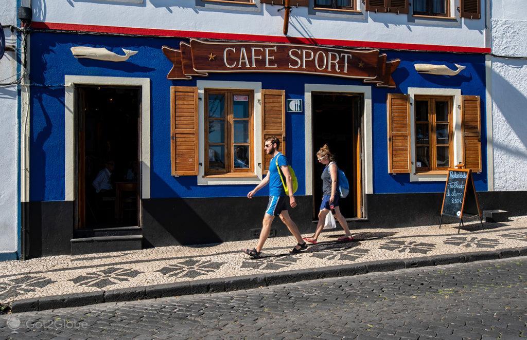 Peter Café Sport, Horta, Faial, Cidade que dá o Norte ao Atlântico