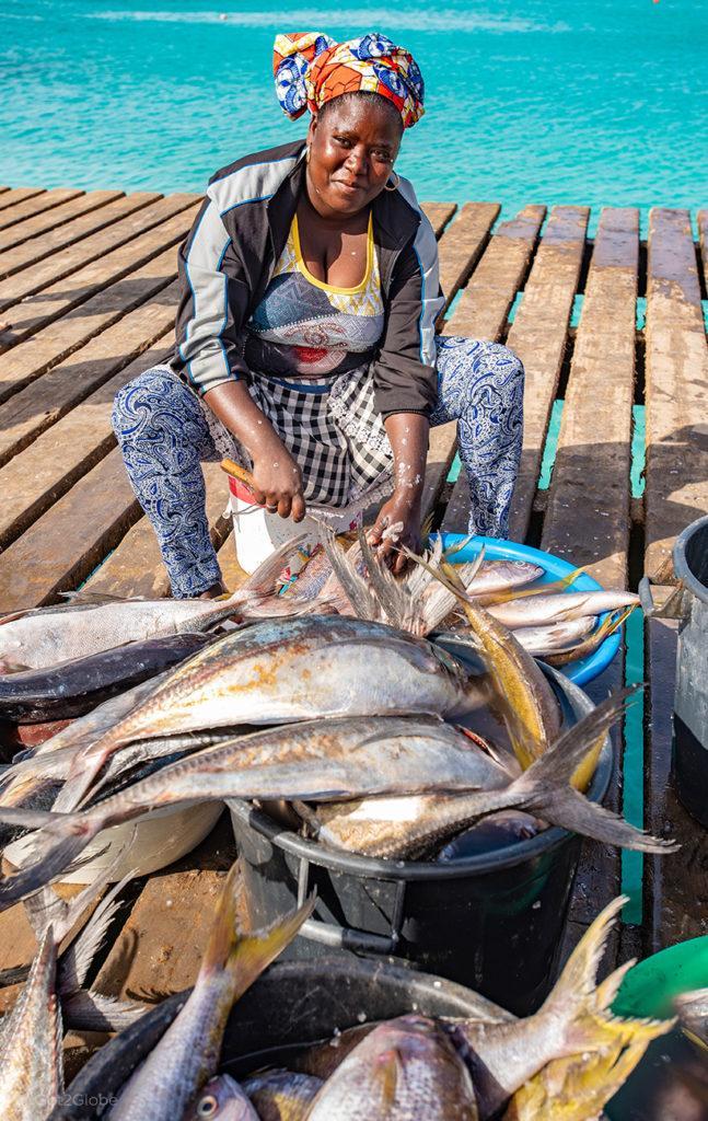 Santa Maria, ilha do Sal, Cabo Verde, peixeira