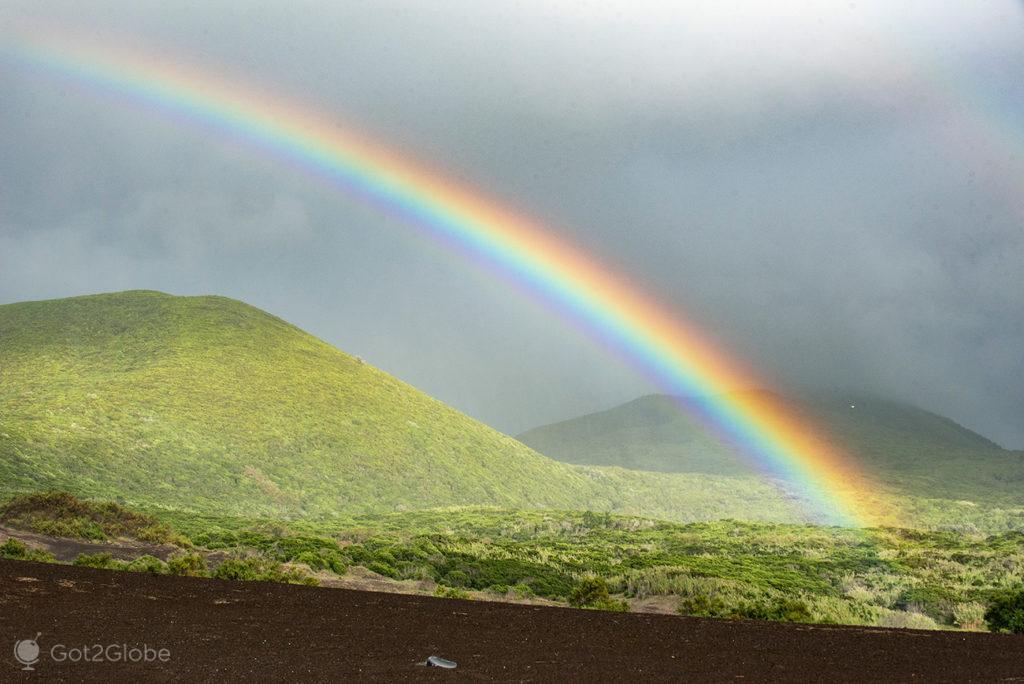Arco-íris, Vulcao dos Capelinhos, Misterios, Faial, Açores