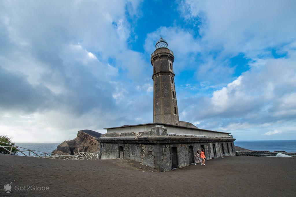 Farol, Vulcao dos Capelinhos, Misterios, Faial, Açores