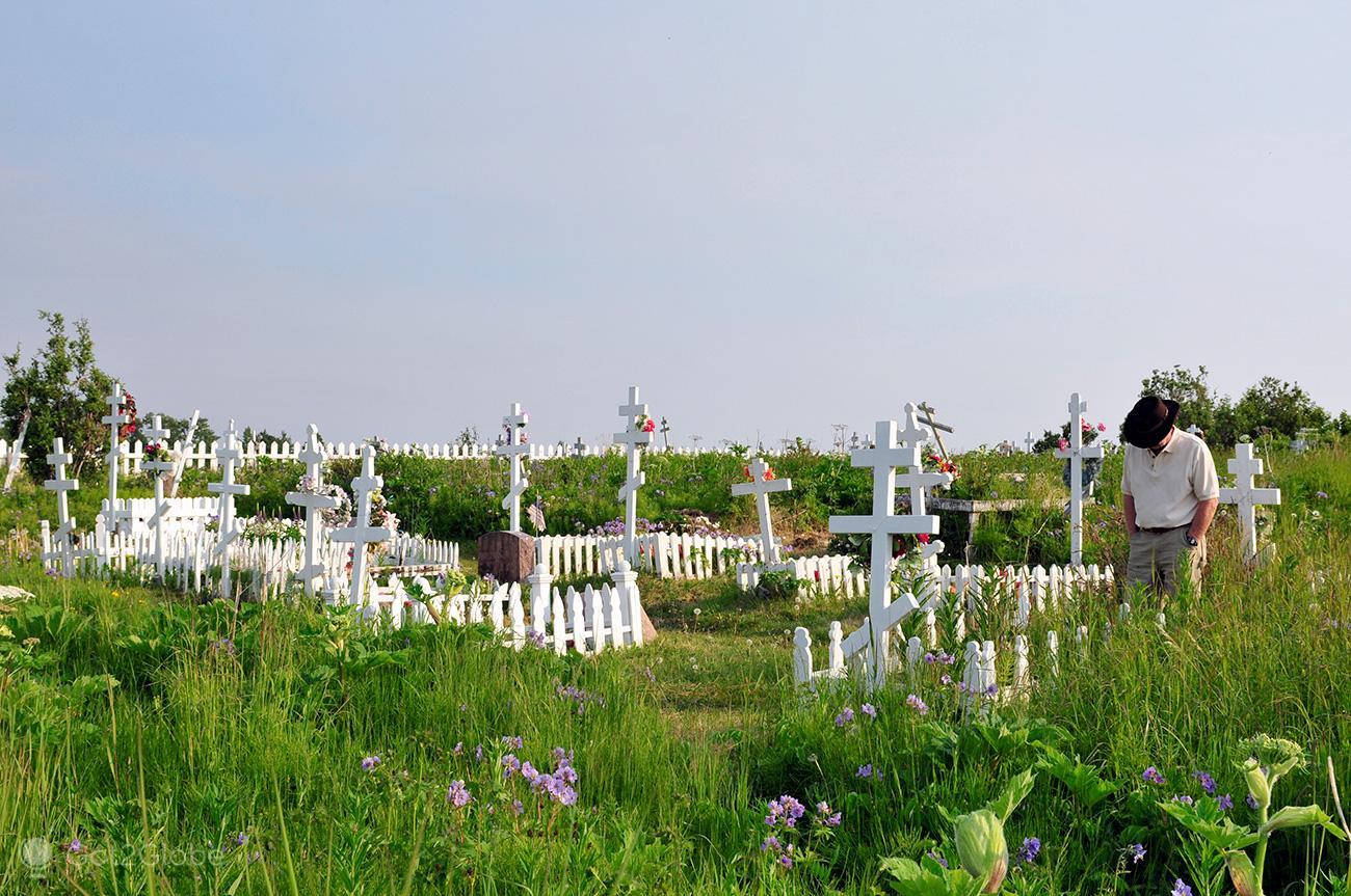 Cemitério de Ninilchik, Alasca, de Homer em Busca de Whittier