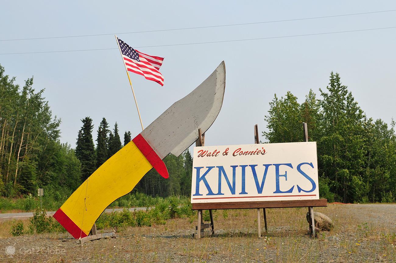Walt & Connie Knives, Alasca, de Homer em Busca de Whittier