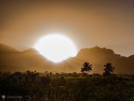 Sol e coqueiros, São Nicolau, Cabo Verde