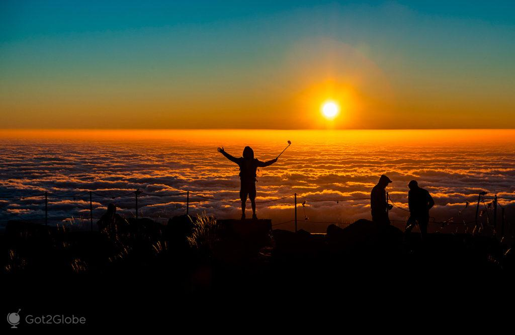 Pico do Arieiro ao Pico Ruivo, Ilha da Madeira, Portugal