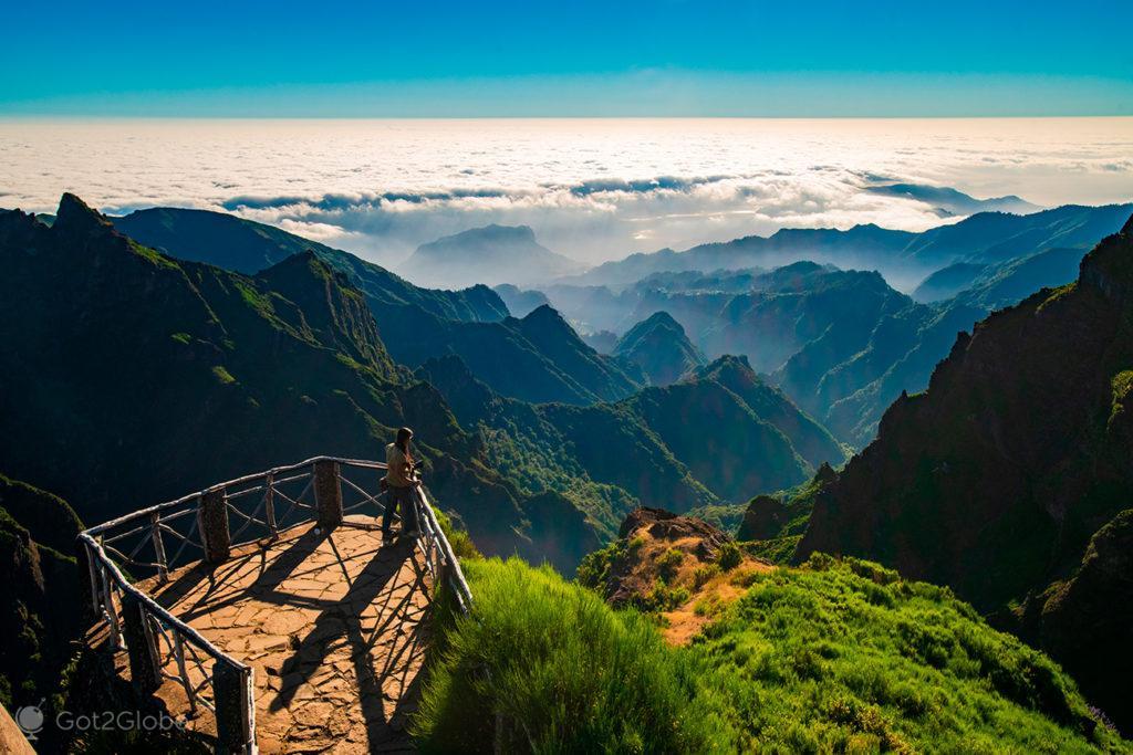 Ninho da Manta, Pico do Arieiro ao Pico Ruivo, Ilha da Madeira, Portugal