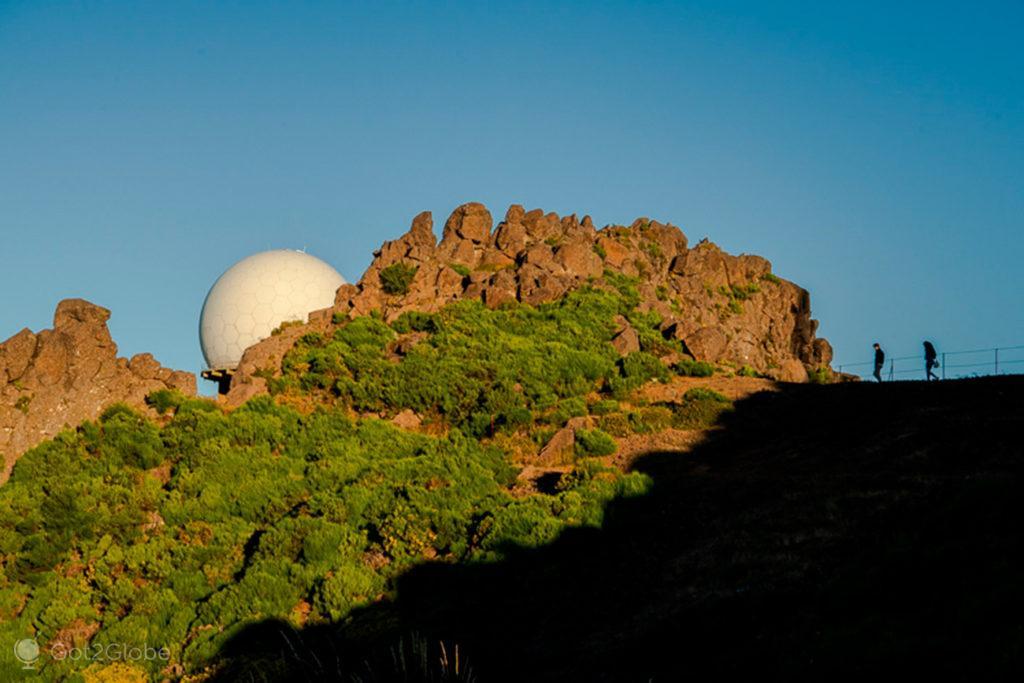 Radar da Força Aérea, Pico do Arieiro ao Pico Ruivo, Ilha da Madeira, Portugal