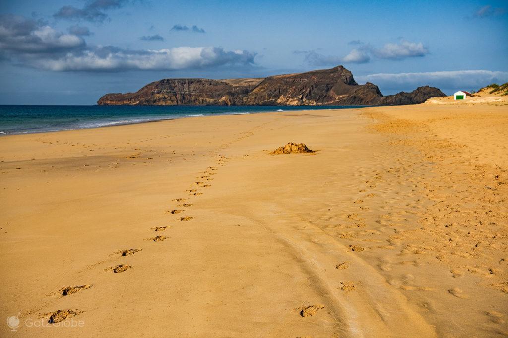 Praia da Ilha de Porto Santo, Portugal