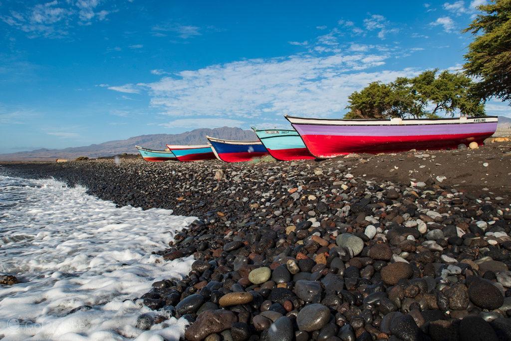 Barcos pesca, Santo Antão, Cabo Verde