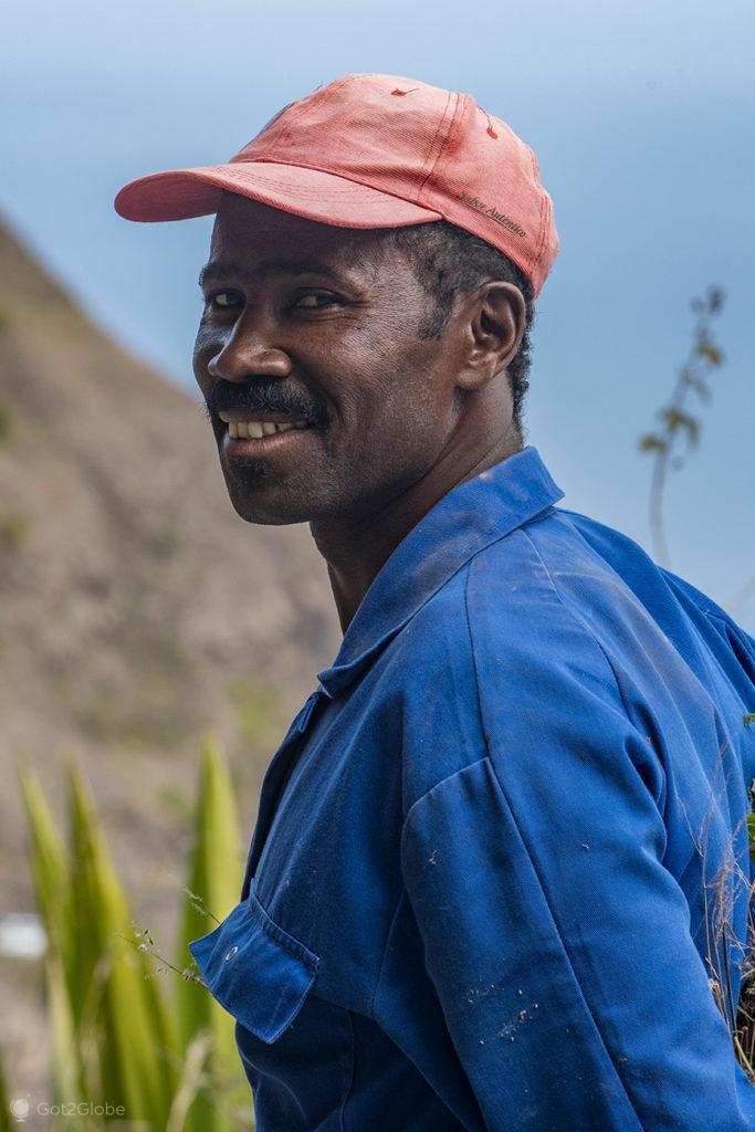 Morador da Corda, Santo Antão, Cabo Verde