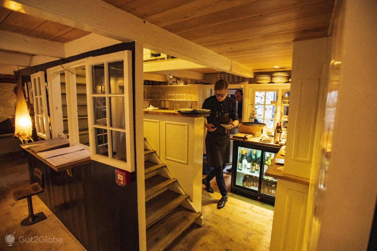 Torshavn, Ilhas Faroe, restaurante Barbara Fish House
