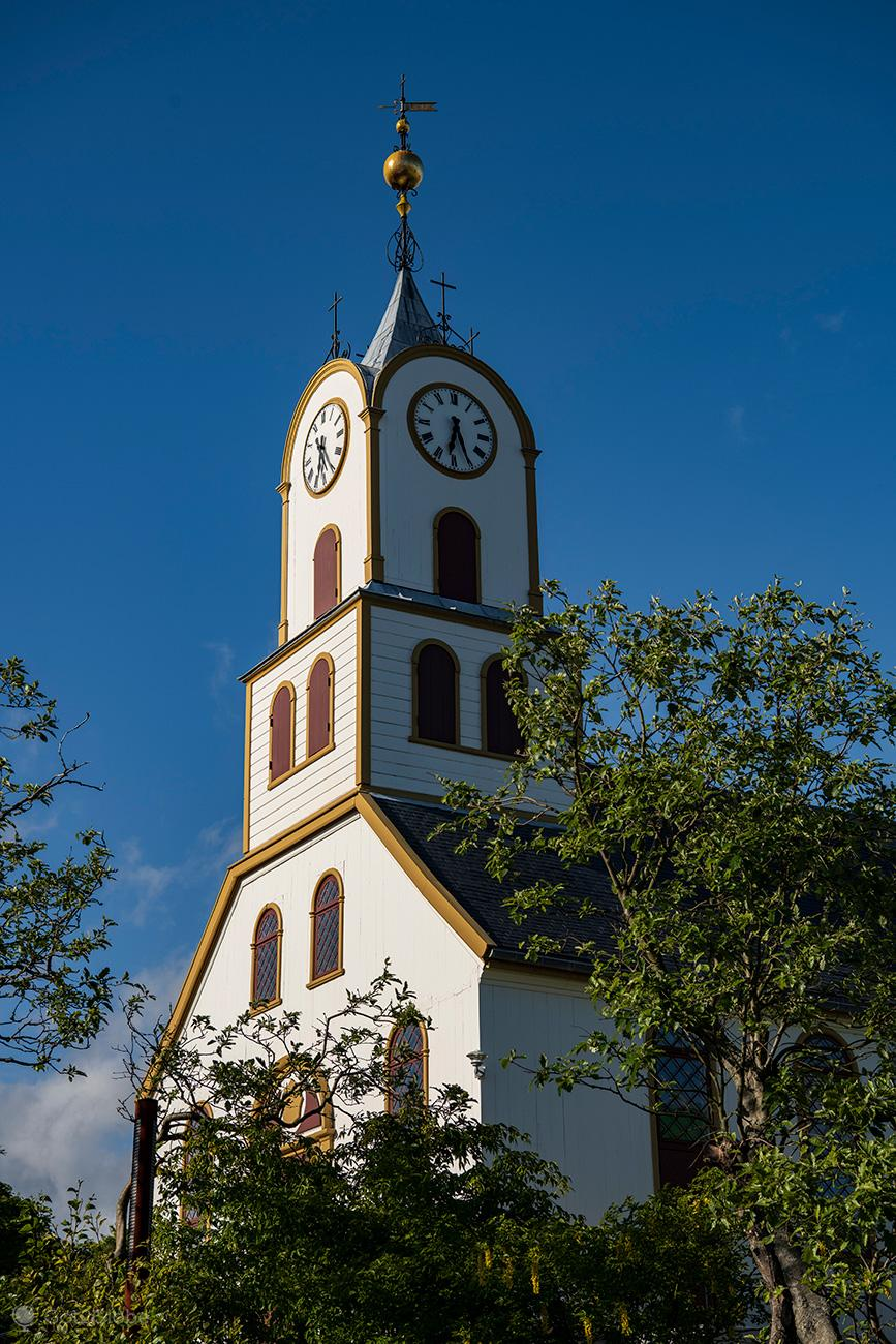 Torshavn, Ilhas Faroe, catedral