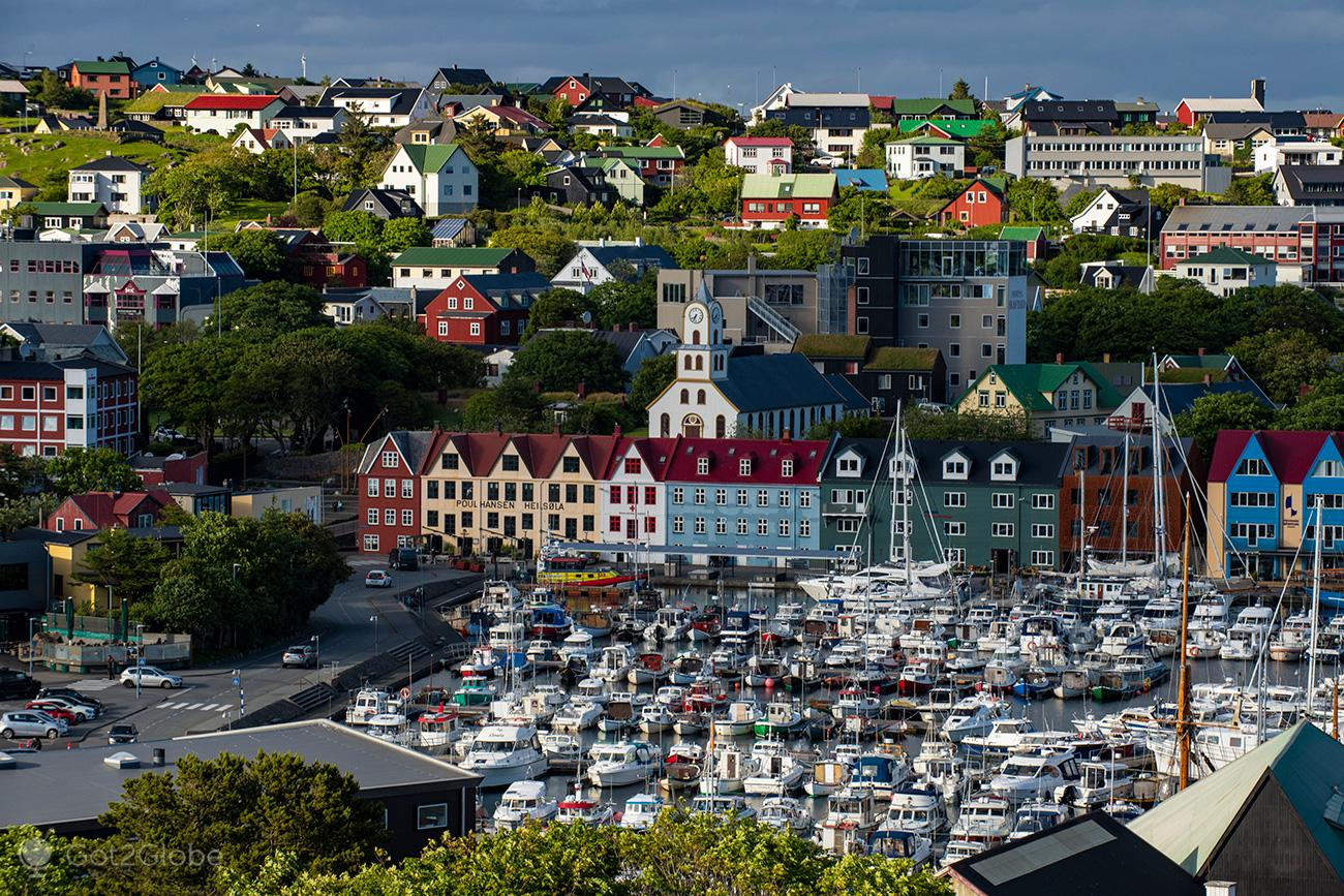 Vestaravág, Torshavn, Ilhas Faroe