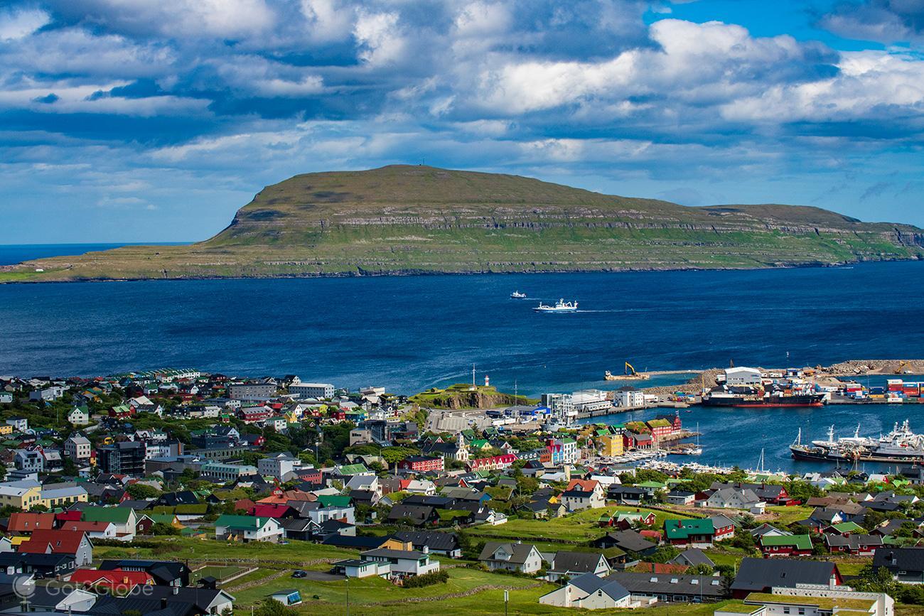 Torshavn, Ilhas Faroe, panorâmica