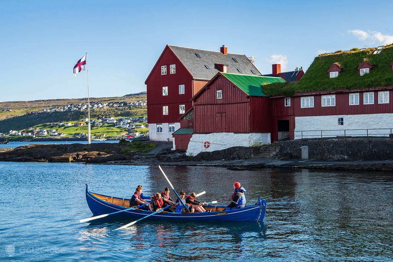 Torshavn, Ilhas Faroe, remo