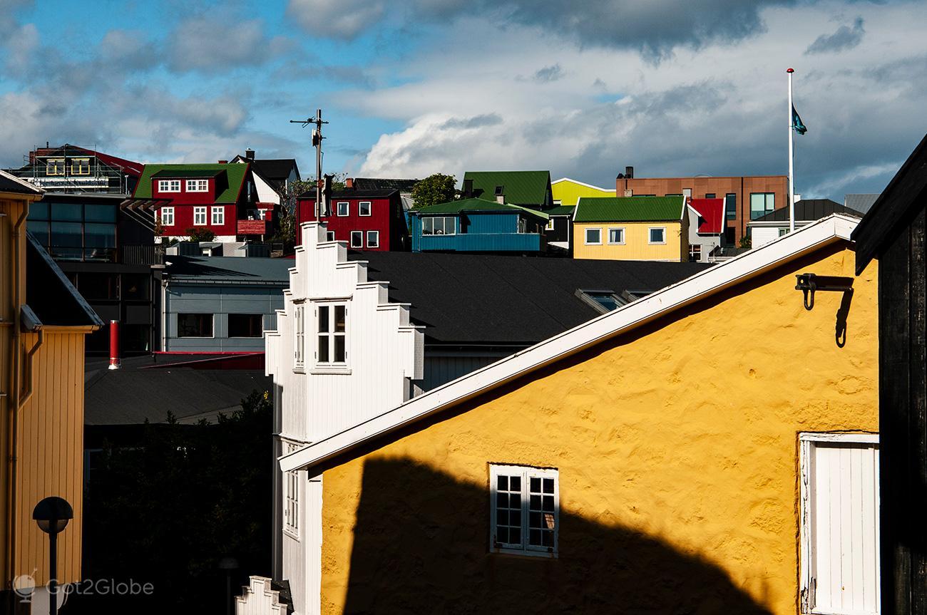 Torshavn, Ilhas Faroe, arquitectura