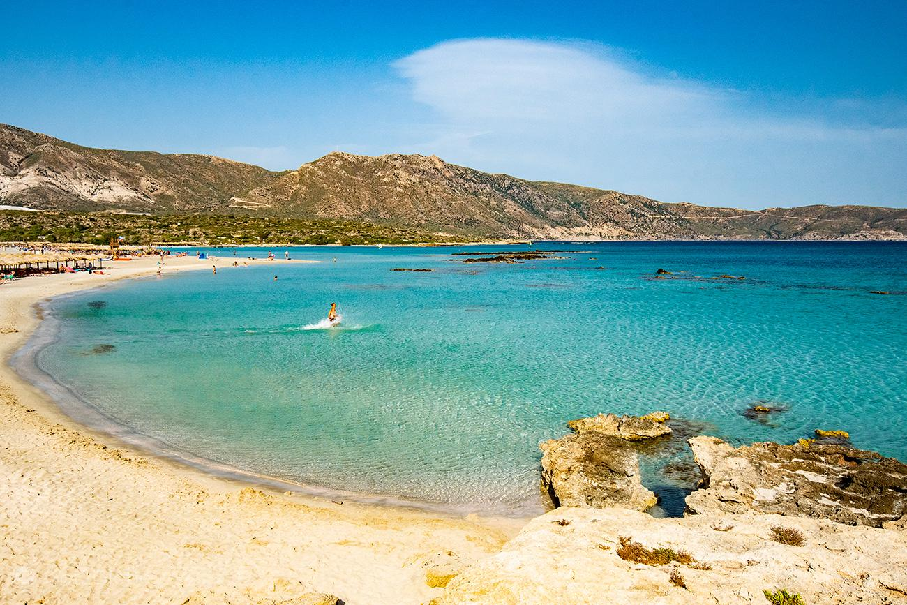 Elafonisi, Creta, Grécia
