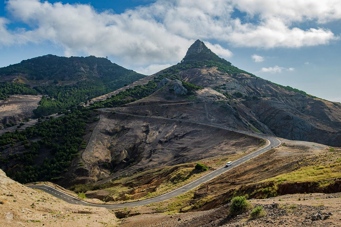Porto Santo, ER111 e Pico Juliana