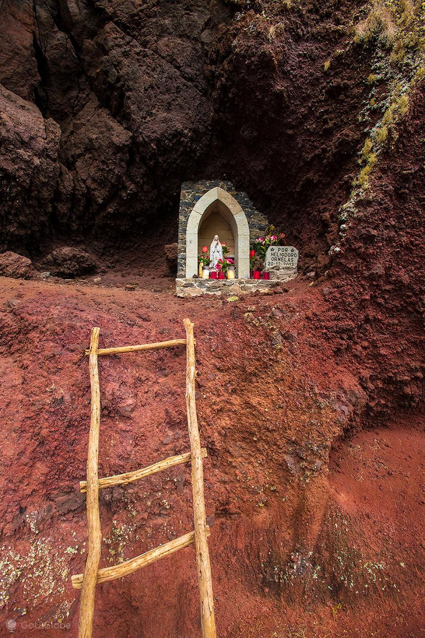 Porto Santo, santuário com Virgem Maria