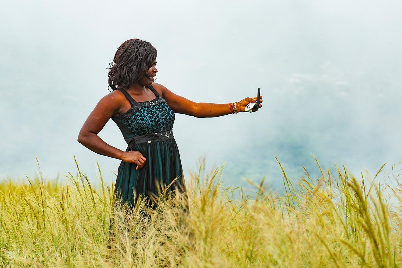 Selfie, Monte Gemi, Amedzofe, Gana