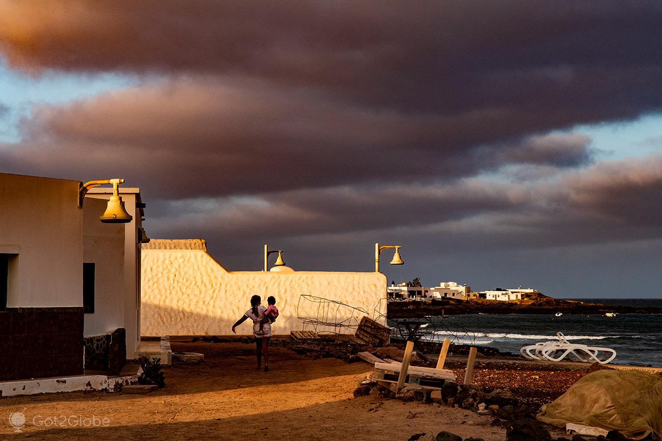 Caleta del Sebo, La Graciosa, Ilhas Canárias, Espanha