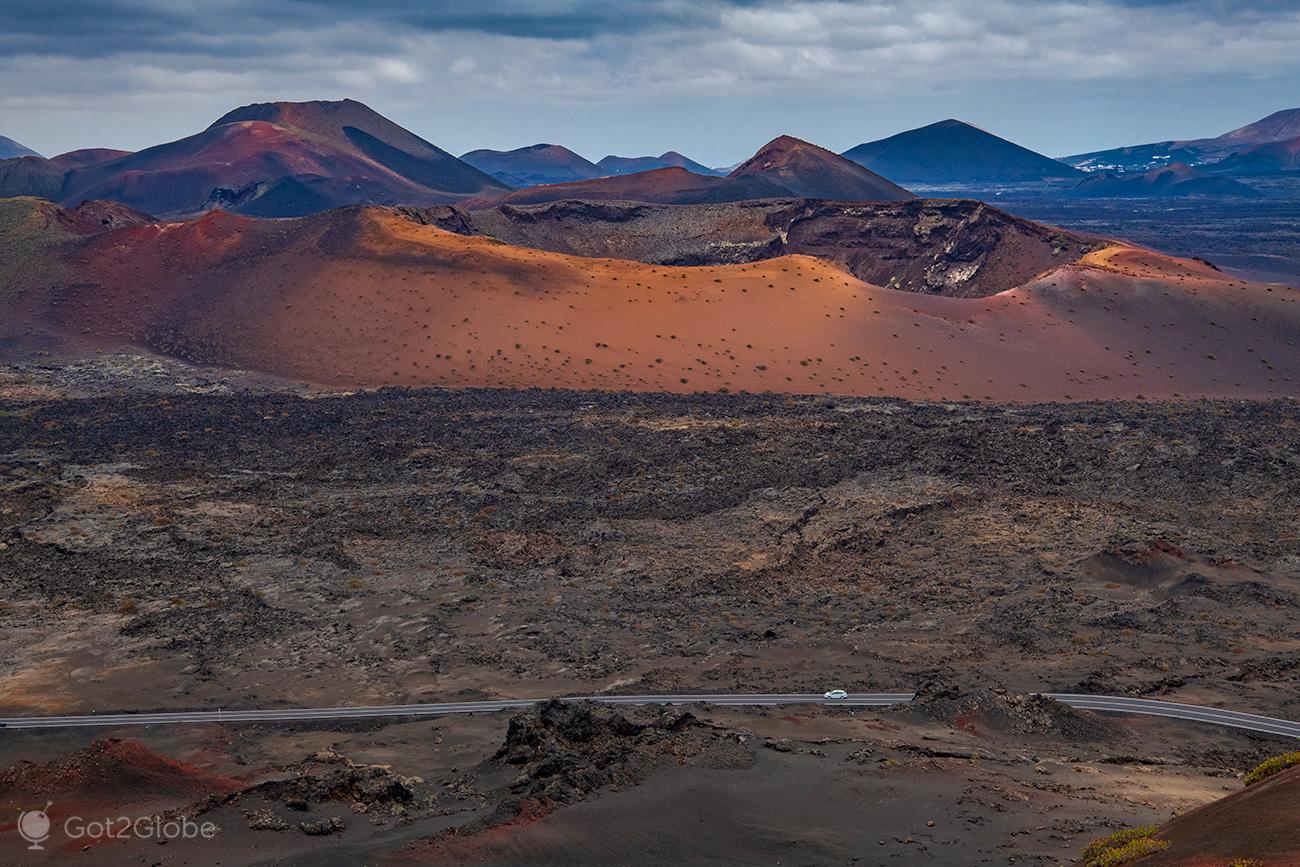 PN Timanfaya, Montanhas de Fogo, Lanzarote, Caldera del Corazoncillo