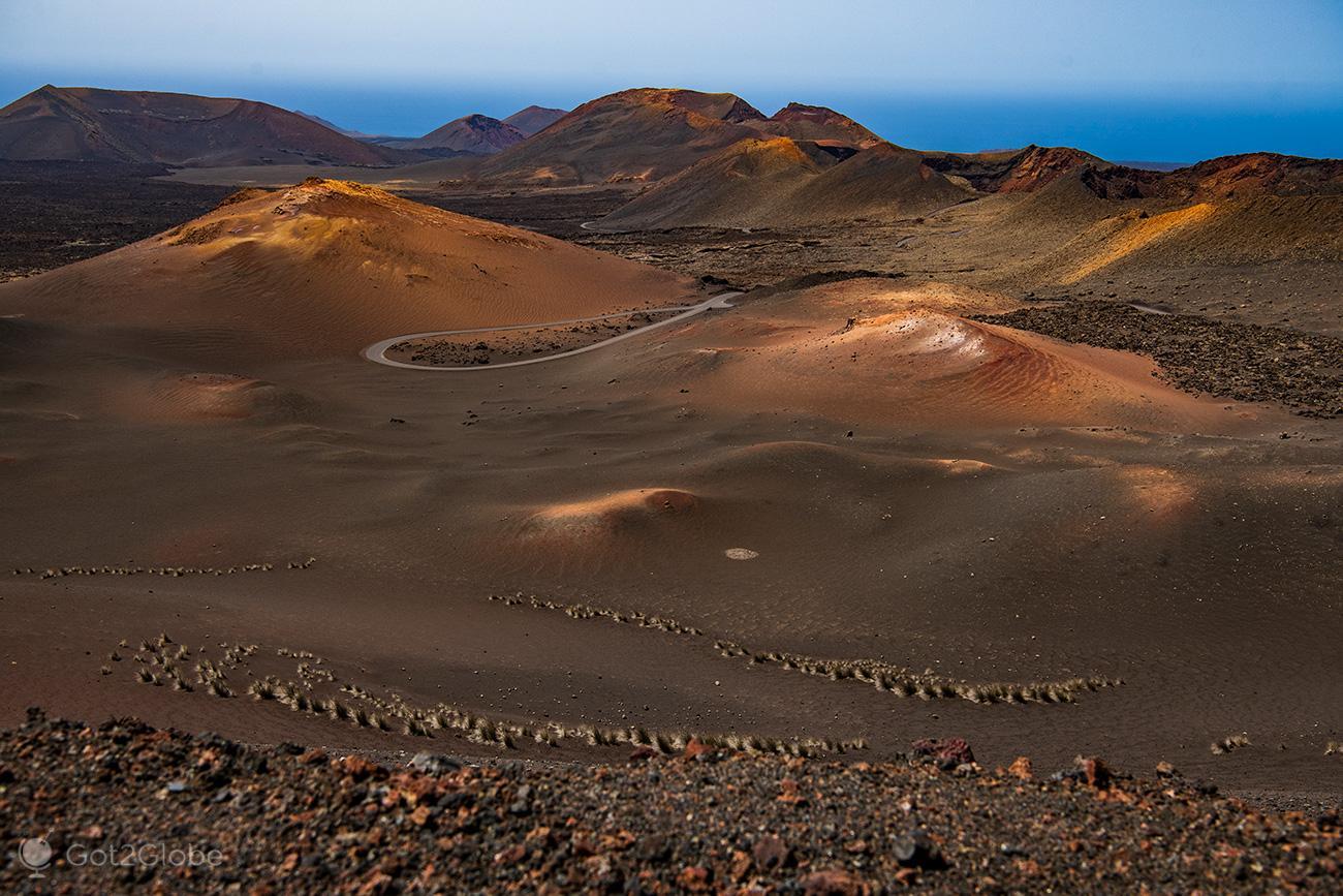 PN Timanfaya, Montanhas de Fogo, Lanzarote, Mar de la Tranquilidad