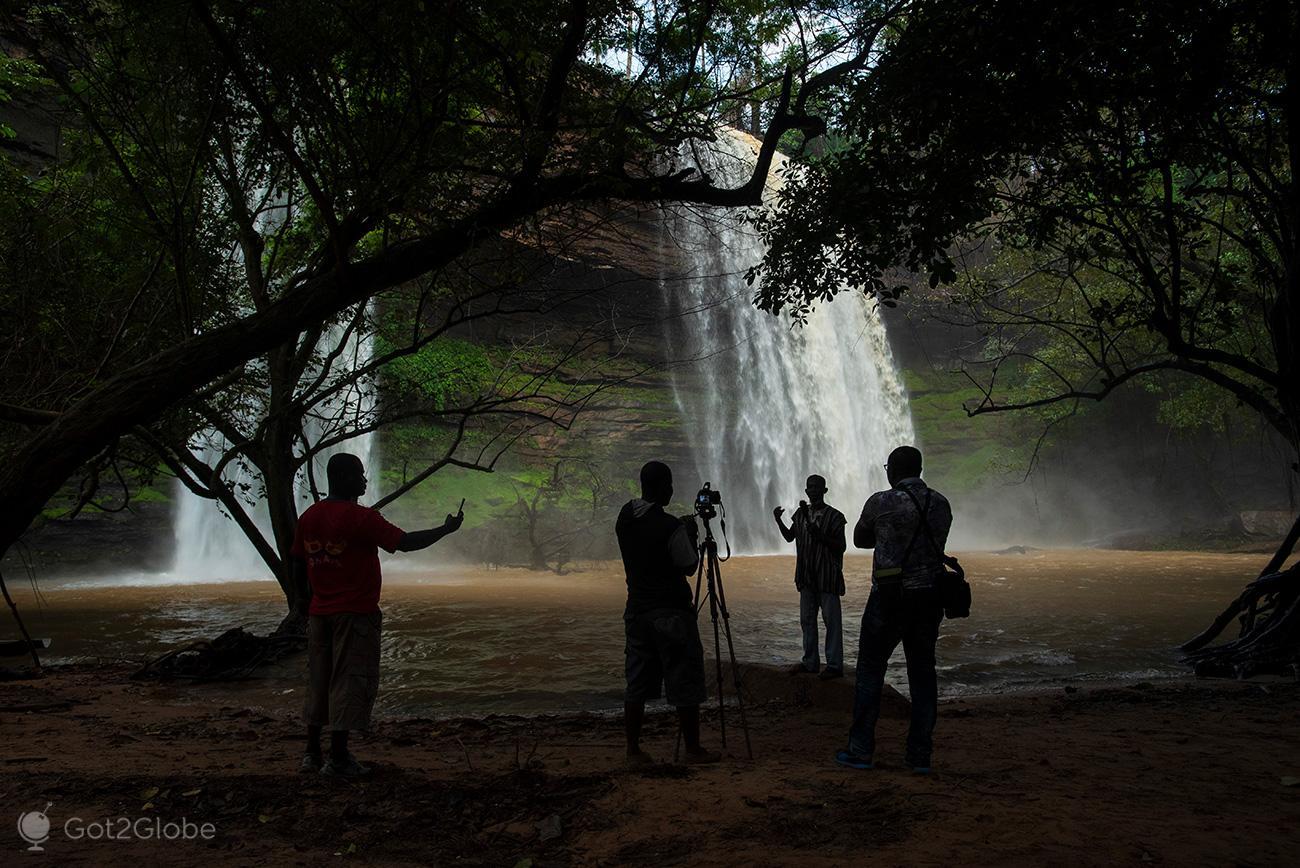 Boti Falls, Gana