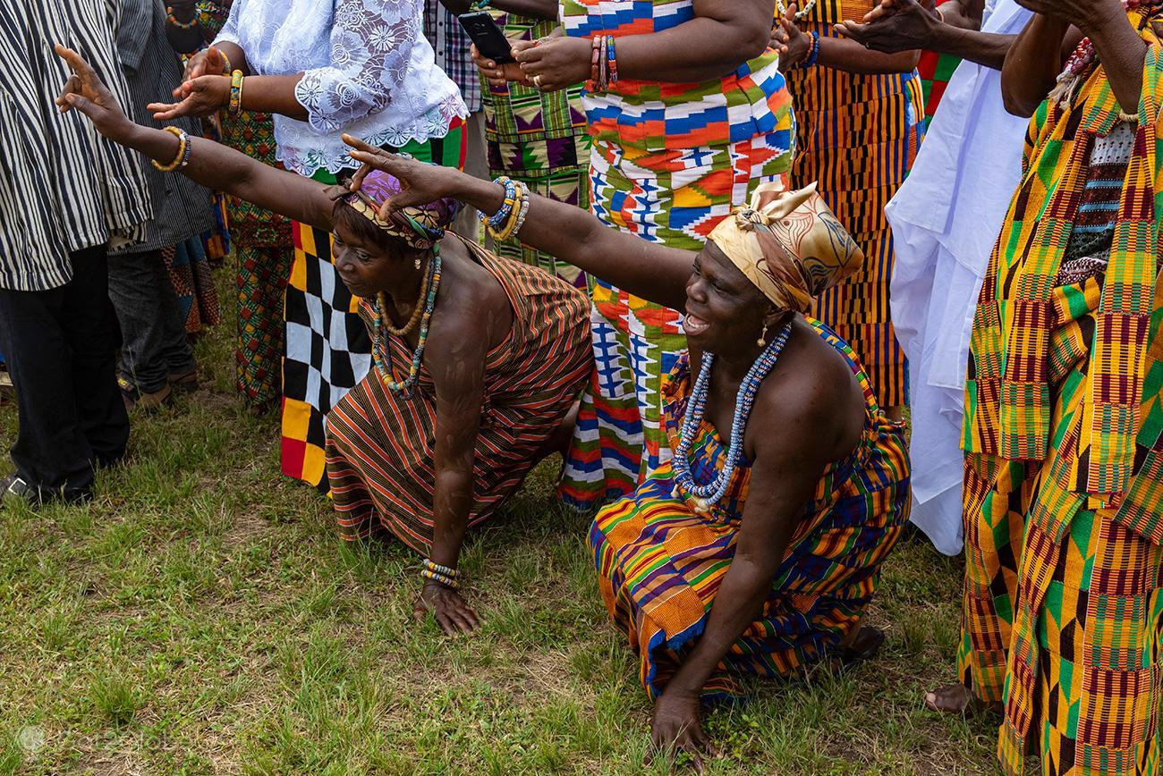 Kente Festival Agotime, Gana, danças