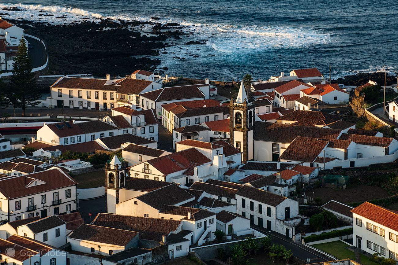 Graciosa, Açores, Cidade de Santa Cruza