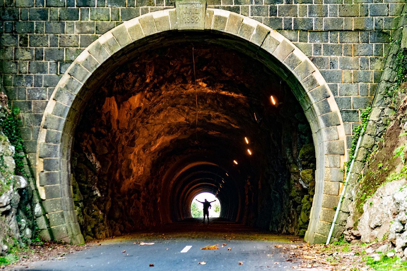 Graciosa, Açores, Túnel da Caldeira