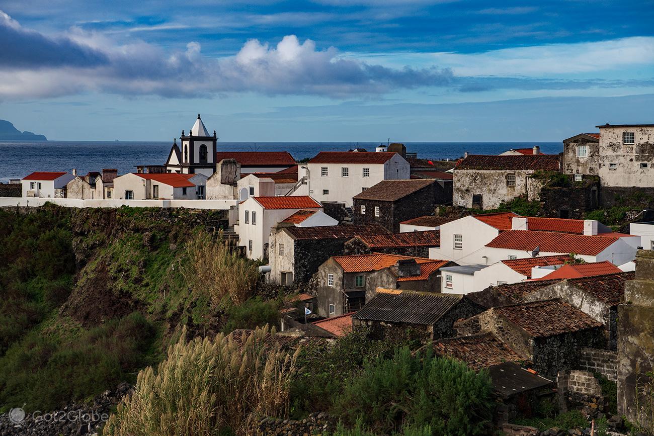 Casario da Vila do Corvo, Açores