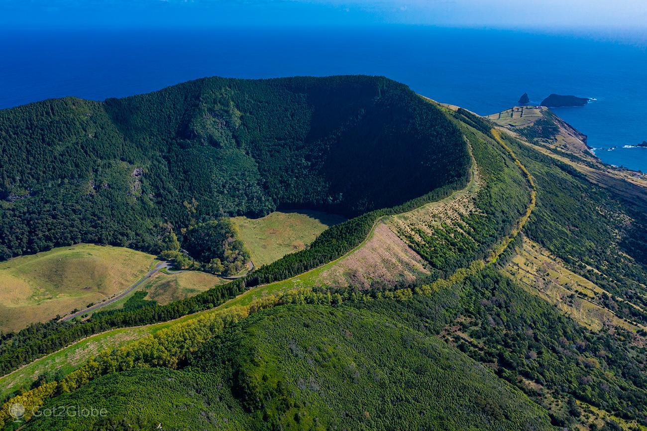 Graciosa, Açores, Caldeira