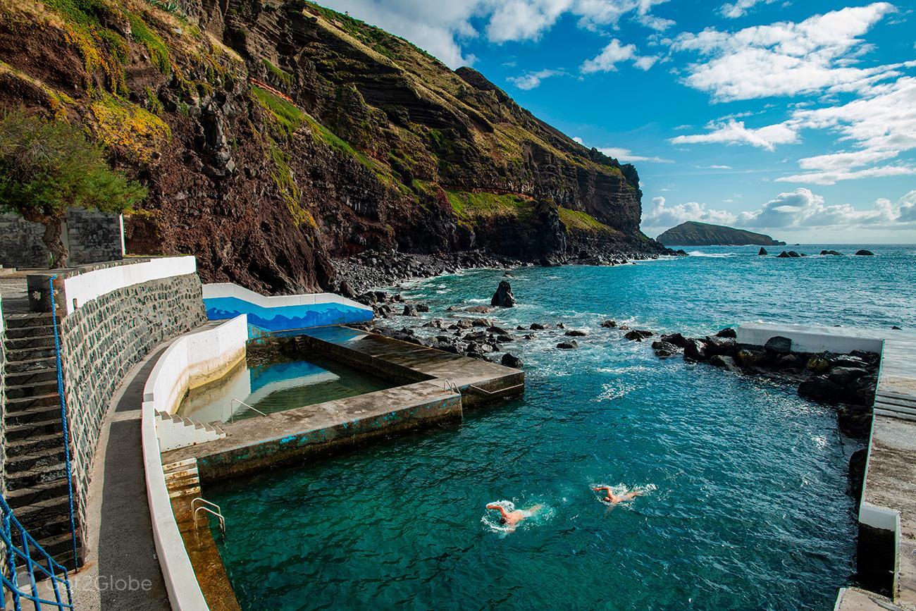 Graciosa, Açores, piscina