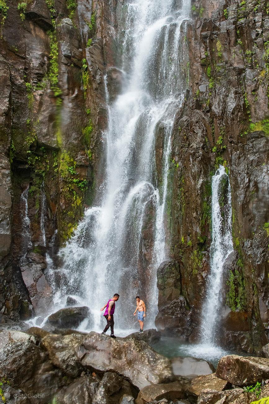 Cascata Cabro Muco, vulcão Miravalles, Costa Rica