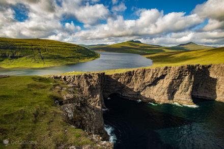 Lago Sorvatsvagn, Vágar, Ilhas Faroé