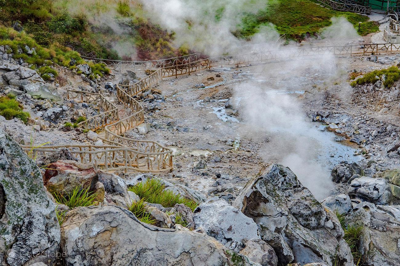 Las Hornillas, vulcão Miravalles, Costa Rica